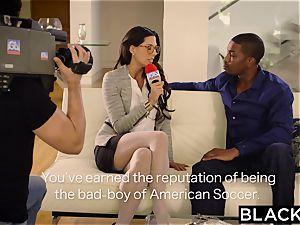 first-ever interracial for babe Alexa Tomas
