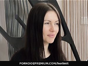HER confine - rough anal invasion and face bang with Sasha Rose