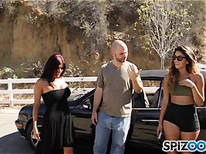 man meat craving pick up with Sophia Leone and Gina Valentina
