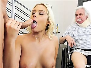 Athena Palomino - My lazy spouse should see how real guys act