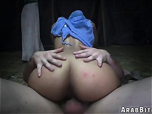 Arab gal and older dude hidden webcam milking climax Sneaking in the Base!