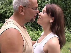 nubile fucked by older boy in her humid vagina w bj