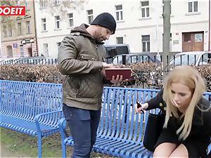LETSDOEIT - super hot blond Tricked Into fucky-fucky By Czech dude
