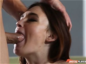 luxurious brown-haired Jodi Taylor decides to make her first lovemaking tape