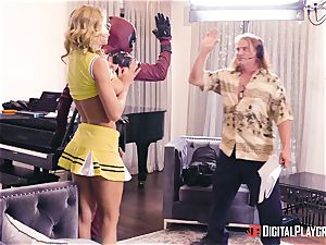 Jessa Rhodes gets romped by suspended superhero