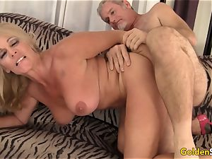 cool and mature Crystal Taylor hard-core