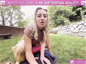VR pornography - Game Of shrieks (A hard-core VR Parody)