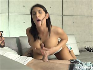 Caught in the action - August Ames