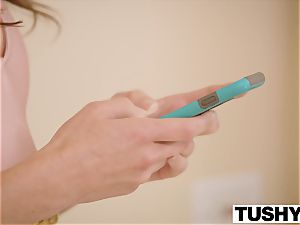 TUSHY Riley Reid and Adriana Chechik ass-fuck gapes