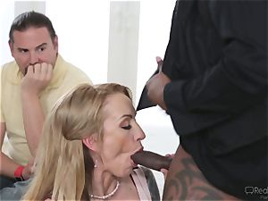 Zoey Portland gets a well deserved portion of pink cigar