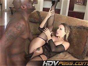 HDVPass bi-racial romp act with Chanel Preston.