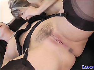 petite cutie slaps her naughty mature friend