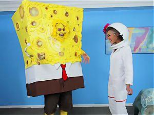 skin Diamond - Spongebob Squarepants and Sandy - a hard-core Parody
