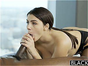 BLACKED jaw-dropping Italian honey Valentina Nappi anilingus ebony boy With enthusiasm