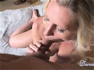 Devon Lee is enjoying her man's cane slammed in her yummy jaws
