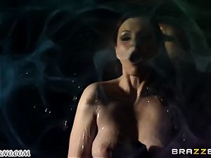 Tina Kay - A ideal evening with huge-boobed stripper
