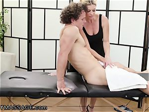 cougar India Summer touches Her nubile punch