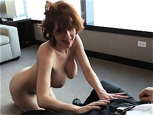 nasty cougar Veronica Avluv mean rigid poking