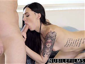 nanny Marley Brinx steamy penetrate After wifey Leaves
