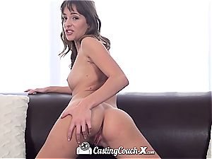 CastingCouch-X - Kimmy Granger first-ever porn audition vid