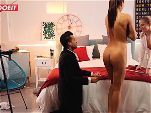 LETSDOEIT insatiable Artist humps super hot Spanish couple