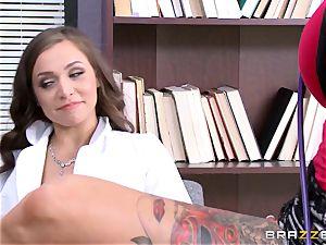 Tiffany star seduced by inked medic Anna Bell Peaks