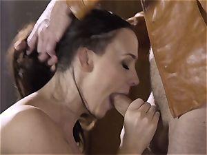Spoiled pt 2 Chanel Preston gets her warm twat handled