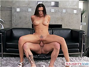 chesty gf Rachel Starr romping