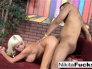 Nikita gets some multiracial luving