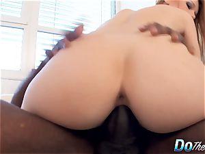 Cuck wifey Alexis Crystal pulverizes dark-hued fellow
