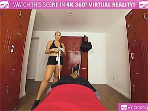 VRBangers.com super hot babe sweat-soaked boinking Her Boxing Coach