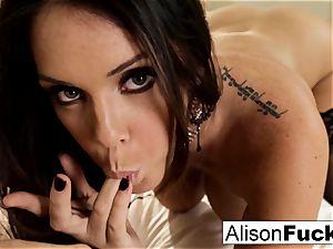 gigantic tittie Alison teases