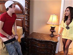Francesca Le pummels a fellow who luvs her undergarments drawer