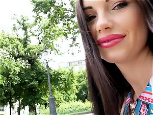 The saucy sneer of Sasha Rose does it all