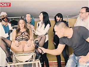 LETSDOEIT - Amirah Is abused at her first-ever bdsm party