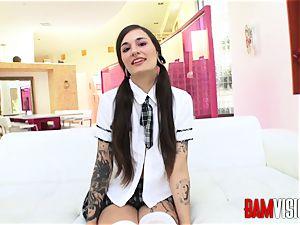 Bamvisions inked teenage Luna cute