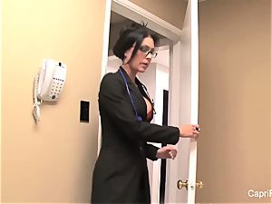 uber-sexy Capri pays a visit to Dr. Jessica Jaymes