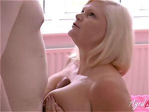AgedLovE xxx hookup with Mature Lacey Starr
