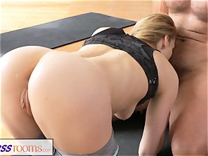 FitnessRooms messy yoga professor stellar fitness model