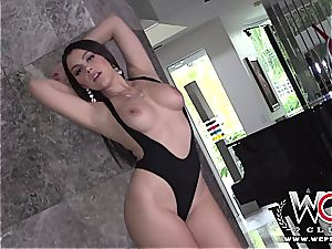 Valentina Nappi gets her brains fucked out by big black cock