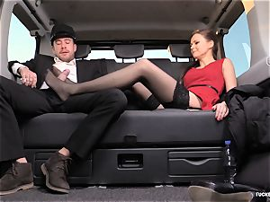 smashed IN TRAFFIC - brit Tina Kay pummeled in the car