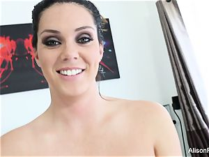 Interview with huge-chested bombshell Alison Tyler