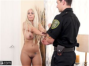 On 4th of July Bridgette B nails a cop