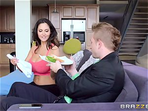 Ava Addams is ravaged in both her moist crevasses