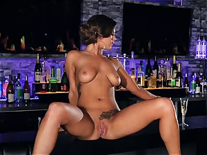 sloppy talking and super hot getting off