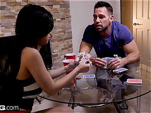 Jade Kush loses a poker bet and gets banged