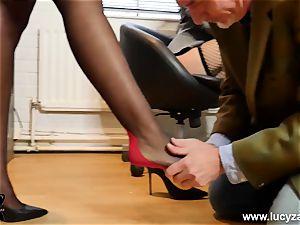 wonderful bosses turn office freak into sole adore victim