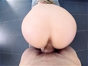 point of view style labia pounding cute cougar Brett Rossi