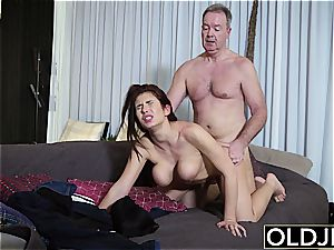 all-natural youthfull Teenie doggy style and fellate bj