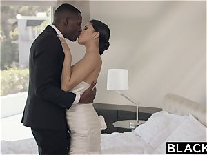 BLACKED jaw-dropping Model Sophia Leone Gets first big black cock